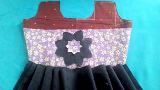 Frock Cutting and Stitching, Beautiful Baby Umbrella SIMPLE FROCK  cutting Tailoring tutorial beginn