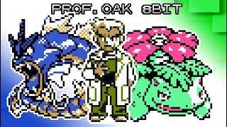 Pokemon Gold Silver and Crystal - Battle! Professor Oak [8bit]
