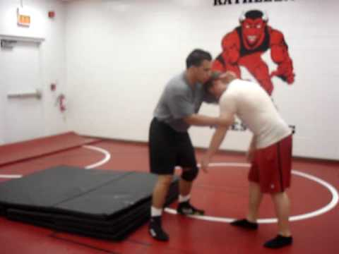 Brent Dail (Instructional Video Wrestling Throws) 4. Front Headlock Throw Image 1
