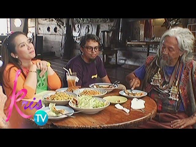 Kris TV: Kris meets Ben Cab, Kidlat Tahimik