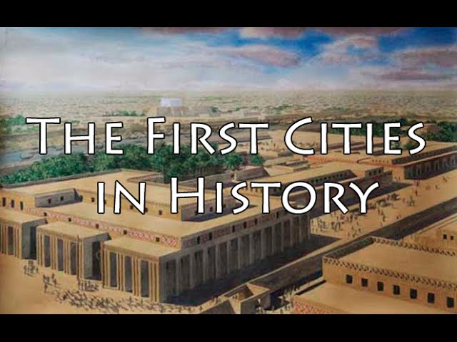 The First Cities in History - Ancient History Documentary