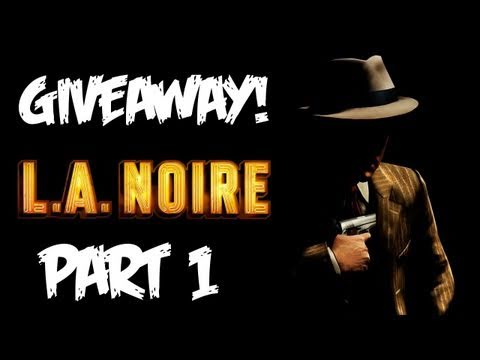 LA Noire: Walkthrough Part 1 [Case 1] - GIVEAWAY! - Let's Play (Gameplay & Commentary)