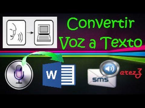 Convertir Voz a Texto   Microfono   ONLINE   [[HD]]