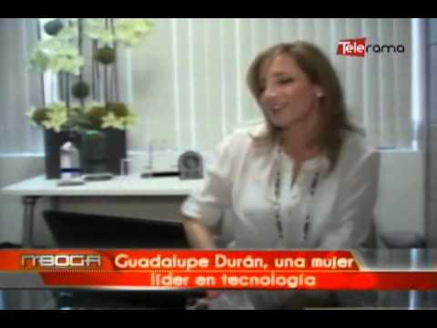Guadalupe Durán una mujer líder en tecnología