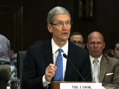 CNET News - Cook hits back at tax critics, says Apple pays its fair share