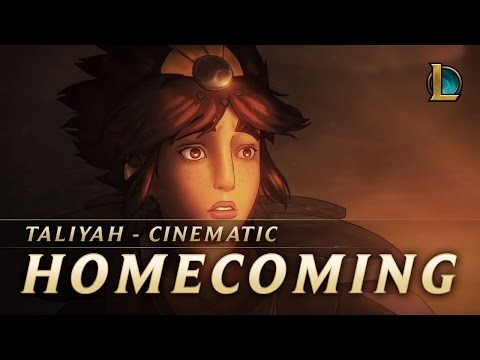 Homecoming | Taliyah New Champion Teaser - League Of Legends