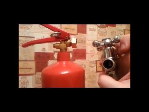 Со2 для аквариума из огнетушителя своими руками