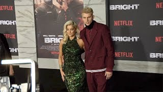 "Download Lagu Bebe Rexha and Machine Gun Kelly ""Bright"" Los Angeles Premiere Gratis STAFABAND"