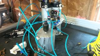 CNC Router Build - Part 2 - Pneumatic Testing