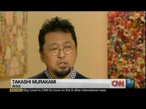 CNN Interview with Takashi Murakami - Part 1 of 2