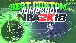 NBA 2K18 BEST CUSTOM JUMPSHOT AFTER PATCH 13! LAST JUMPSHOT VIDEO OF 2K18! (automatic greens)