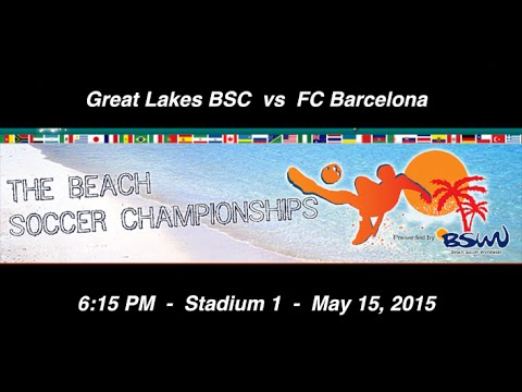 Great Lakes BSC vs FC Barcelona - Friday, 6:15 PM