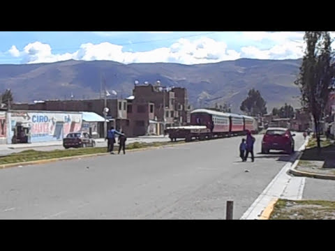 Tren rumbo a Huancavelica a las 2pm (leer descripción)