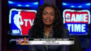 Dwight's Makes Laker's Debut | 10/21/2012 | October 21, 2012 | NBA Preseason