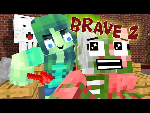 Monster School: Brave Part 2 - Minecraft Animation