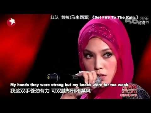 Asian Wave 20120912 : Shila Amzah - Set Fire To The Rain video