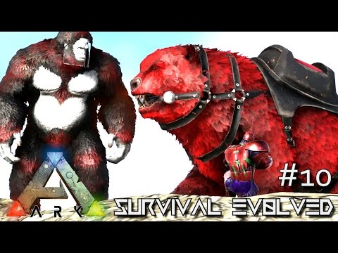 ARK: SURVIVAL EVOLVED - NEW ALPHA BIGFOOT & DIREBEAR TAMING !!! E10 (ARK ANNUNAKI EXTINCTION Core)