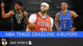 NBA Trade Rumors: Lakers, Thunder, Bucks Among Teams That Could Be Buyers At The Trade Deadline
