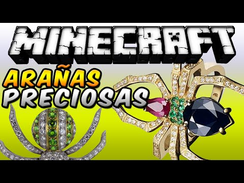 Minecraft - ARAÑAS PRECIOSAS MOD (Minerales de a gratis!!) - ESPAÑOL TUTORIAL