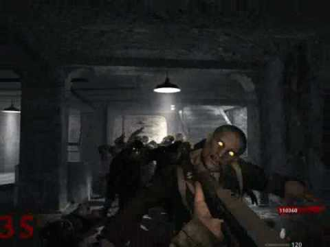 Call of Duty 5 Nazi Zombies SOLO Level 36!!! Respushia4 only tactic