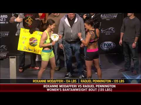 TUF 18 Finale Official WeighIn