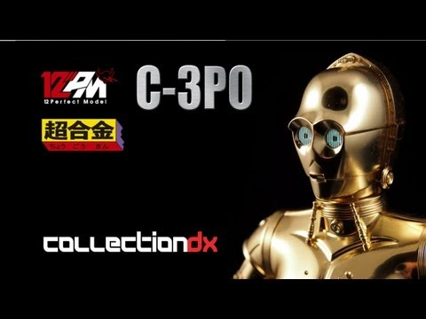 12PM C-3PO Chogokin Review by Bandai Tamashii