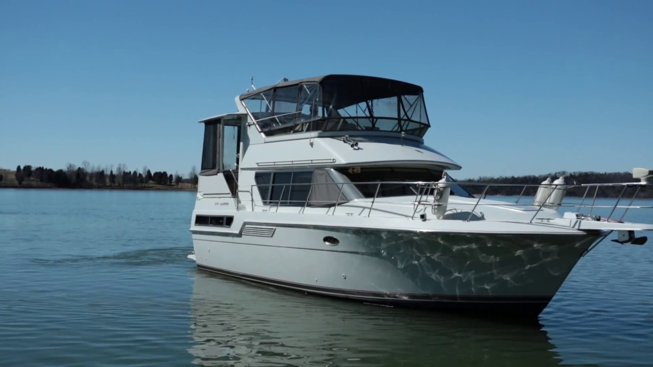 Carver 370 Aft Cabin Motor Yacht 1996 For Sale Youtube