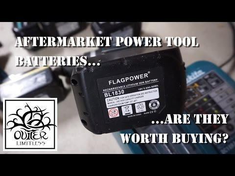 Aftermarket Power Tool Batteries...Are They Worth Buying??
