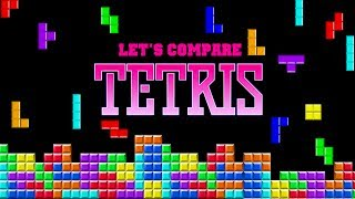Let's Compare ( TETRIS )