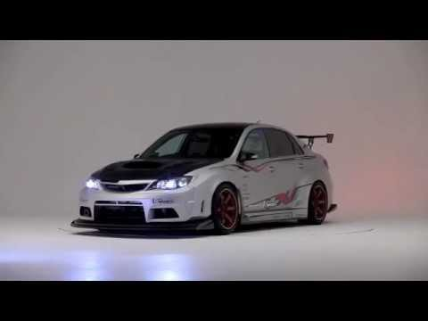 Subaru Wrx Sti 4 Door With Varis Wide Body Kit Youtube