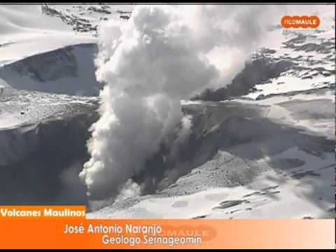 Planchon Peteroa Volcan Planchon Peteroa