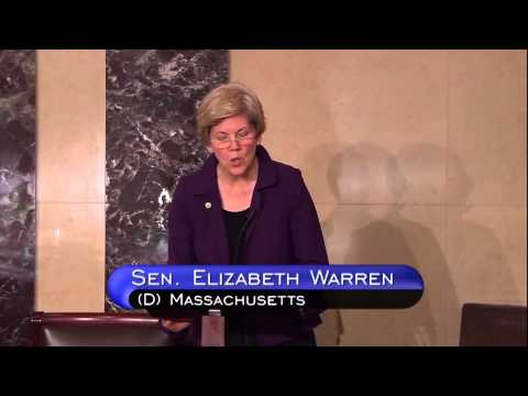 Sen. Warren Calls on House to Strike Repeal of Dodd-Frank Provision in Funding Bill