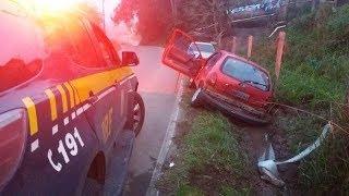 PRF perseguição a carro roubado no Rio Grande do Sul