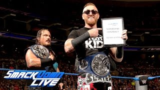 Heath Slater's official SmackDown LIVE Contract Signing: SmackDown LIVE, Sept. 13, 2016