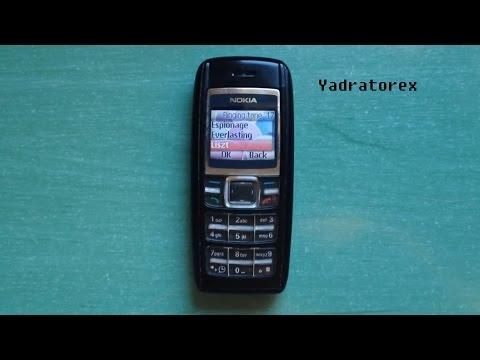 Nokia 1600 retro review (old ringtones, themes & games)