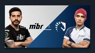 CS:GO - MIBR vs. Team Liquid [Overpass] Map 2 - Semifinals - ESL Pro League Odense Finals 2018