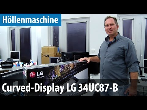 Höllenmaschine 6 - Das Curved-Display LG 34UC87-B | deutsch / german