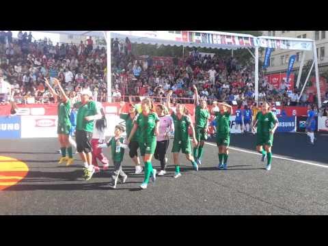 Mexico(W)vs Brasil(W) Homeless World Cup'14