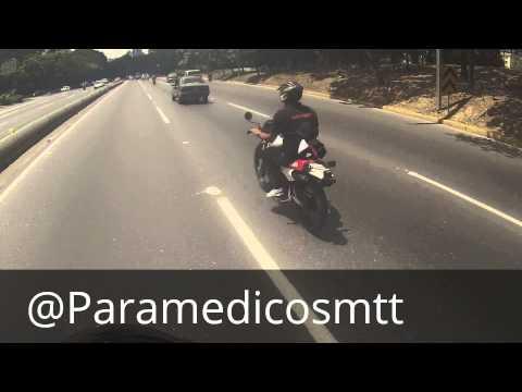 Paramedicos Motorizados // Escoltando Ambulancia al paseo colon para apoyar a Bomber DC