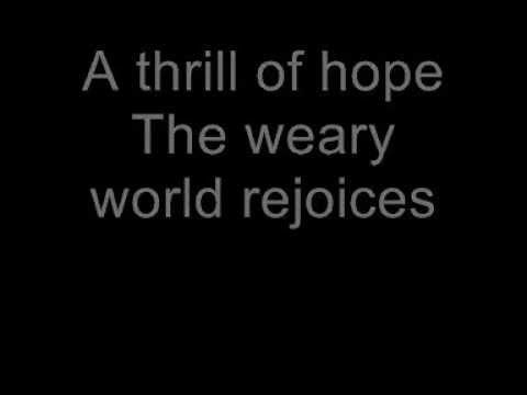 Oh Holy Night With Lyrics-celine Dion video