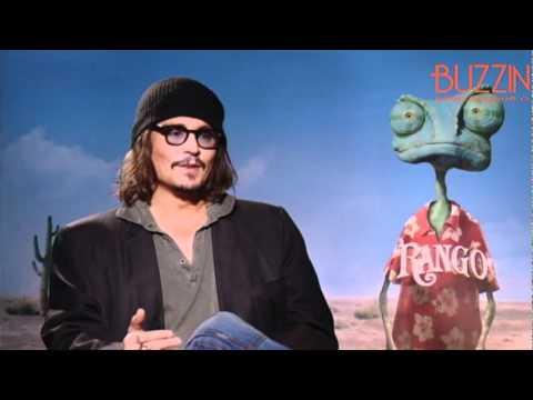 Rango: Johnny Depp, Isla Fisher, Abigail Breslin, Gore Verbinski - Buzzine Interviews (Part 1)