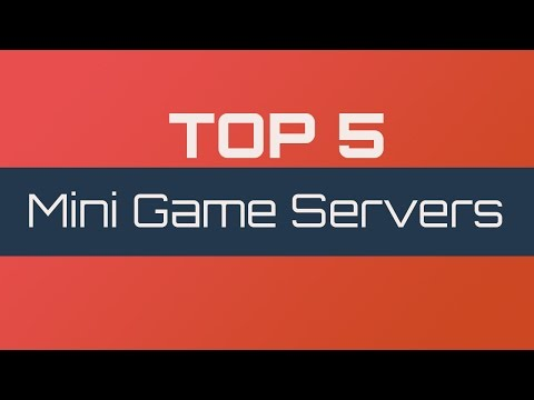 Top 5 Minecraft Mini-Game Servers 1.7.9 - (2014)