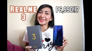 REALME 3 : UNBOXING - QUICK REVIEW - English Review