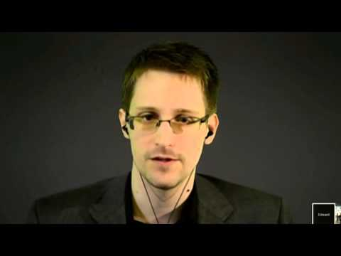 Edward Snowden comments on mass surveillance and the future of Western society