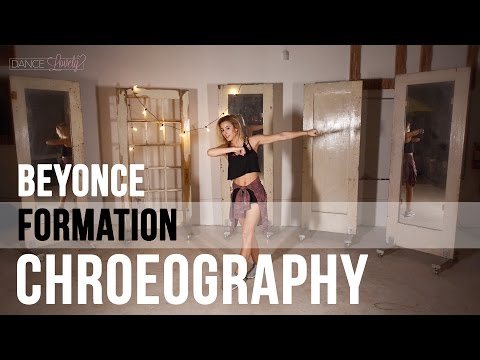 Beyonce Formation Choreography and Bruno Mars Dance Moves  - Super Bowl 50 HD