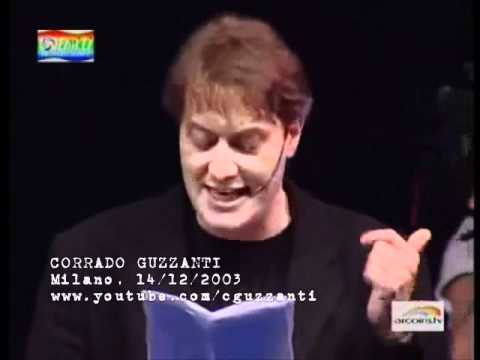 Corrado Guzzanti – Discorso Milano 14/12/2003 HD