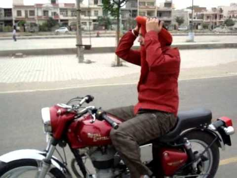 Turban Video Pride Of Sardar New Turban Tying On Bike First...