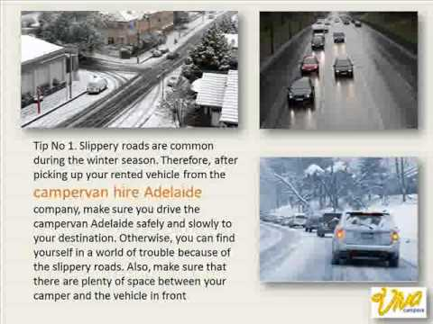 Enjoy your cold-weather Road Trips with Campervan Hire Adelaide winter travel safety tips
