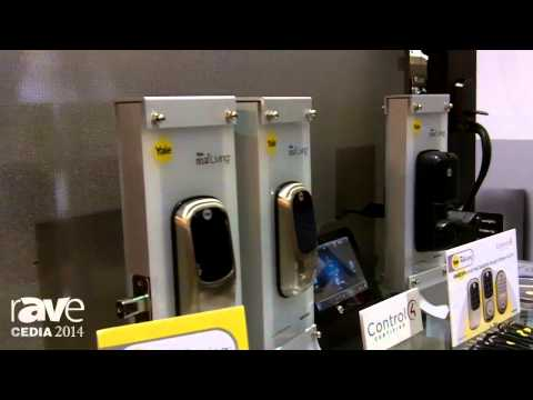 CEDIA 2014: Yale Residential Demos Its Deadbolts and Levers Working With Control4