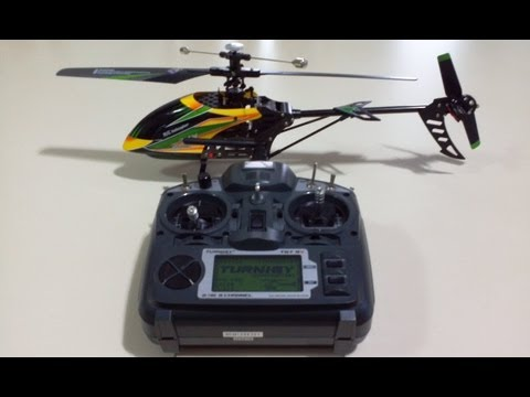 How to Setup and Bind the V912 Helicopter with a Turnigy 9X v2 Transmitter - Step by Step Guide